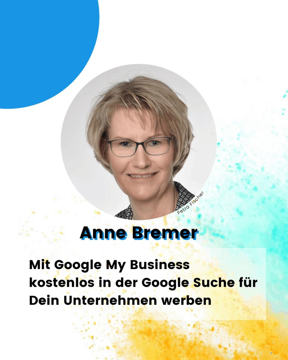 """Mein Thema: """"Mit Google My Business kostenlos in der Google Suche für Dein Unternehmen werben"""""""