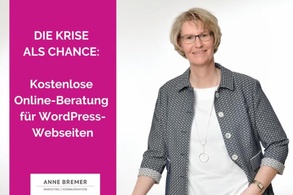Jetzt Termin für eine kostenlose Online-Beratung für Deine WordPress-Webseite reservieren!
