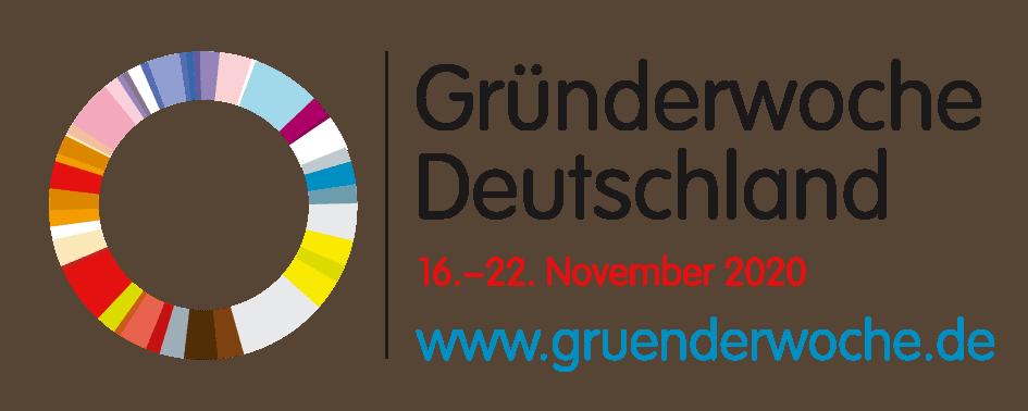 Ich bin Partner der Gründerwoche Deutschland 2020