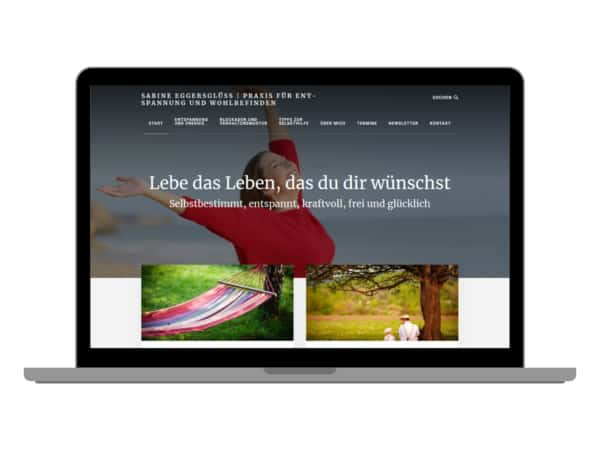 Curandera Bomlitz | Sabine Eggersglüß - Screenshot - Relaunch 2018