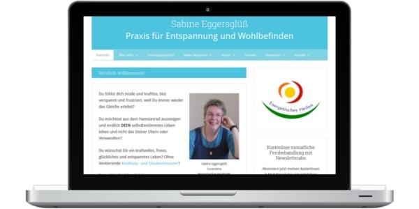 Screenshot von www.curandera-bomlitz.de - Praxis für Entspannung und Wohlbefinden in Bomlitz