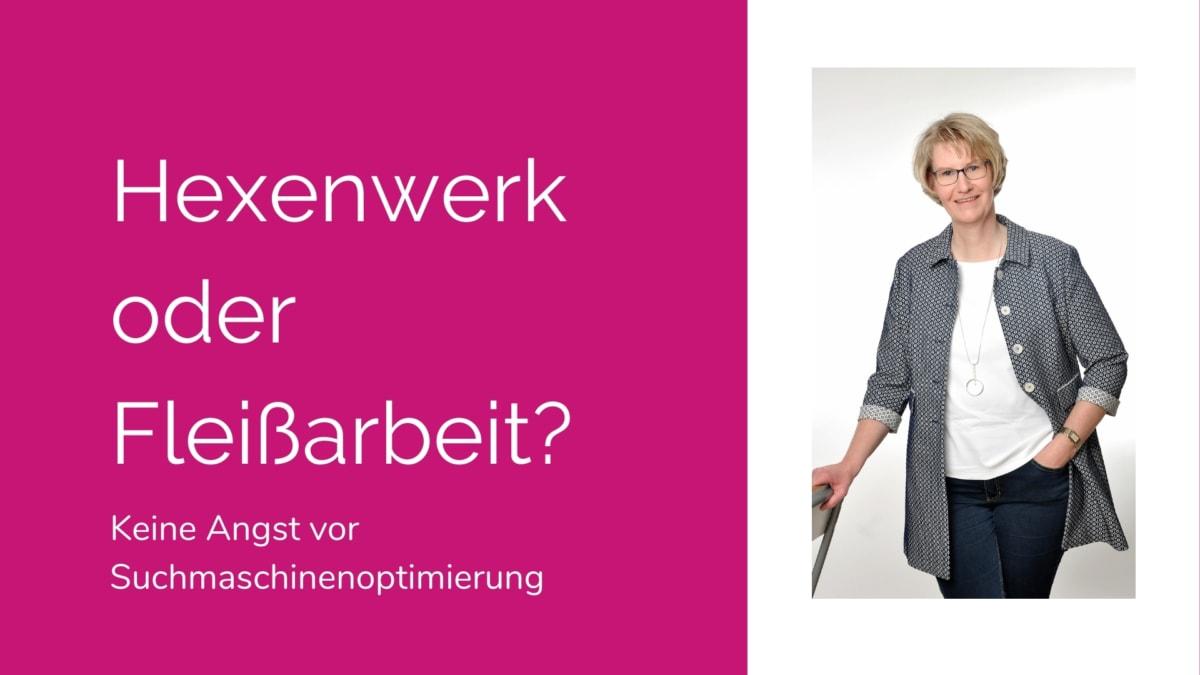 """Cover Präsentation """"Hexenwerk oder Fleißarbeit?"""""""